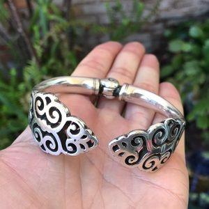 Brighton silver cuff bracelet